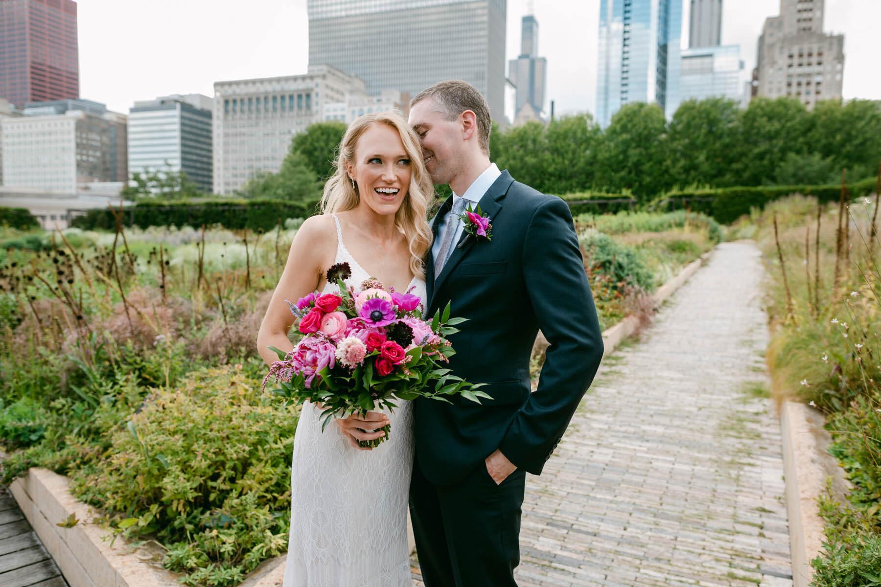 millennium park wedding