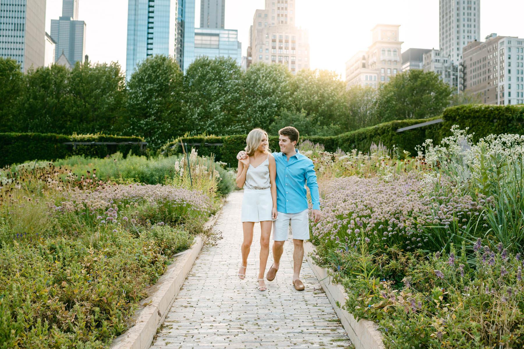 Millennium Park Engagement
